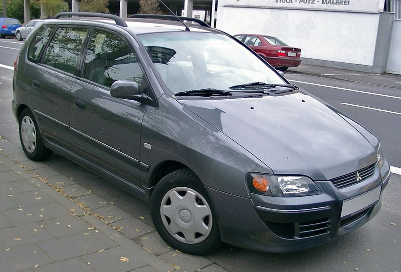 MITSUBISHI SPACE STAR 1.2002-12.2005